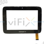 "Replacement XLD882-V2 Digitizer Touch Screen for Clempad 3G 8"" Plus 8 Inch Tablet PC"