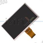 Repuesto FY07024DI26A111-1-FPC1-A Pantalla LCD para 7 Pulgadas Tablet PC