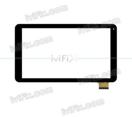 Remplacement HSCTP-806B-10.1-VO Écran tactile pour 10.1 Pouces Tablette PC