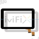 Remplacement Kingvina 126-070F Écran tactile pour 7 Pouces Tablette PC