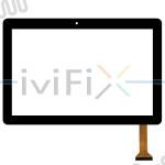 Remplacement HZYCTP-102316 Écran tactile pour 10.1 Pouces Tablette PC