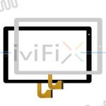 KMT10153A1-P10-ZS Touchscreen Digitizer Ersatz für 10.1 Zoll Tablet PC