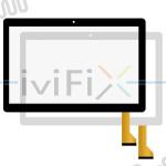 TCC-0174-9.6-V1 FPC Touchscreen Digitizer Ersatz für 9.6 Zoll Tablet PC