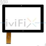 HK101PG3372B-V01 Touchscreen Digitizer Ersatz für 10.1 Zoll Tablet PC